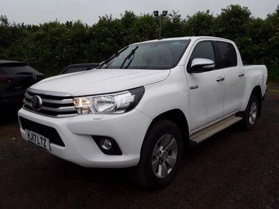 Toyota Hilux Pickup 2.4 D-4D Icon Double Cab Pickup 4WD EU6 4dr (3.5t)