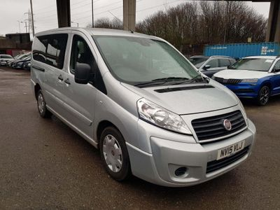 Fiat Scudo Other 2.0 JTD MultiJet L1 STD Combi 5dr (EU5, 6 Seats)