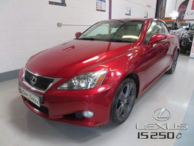 Lexus IS 250 Convertible 2.5 SE-I 2dr