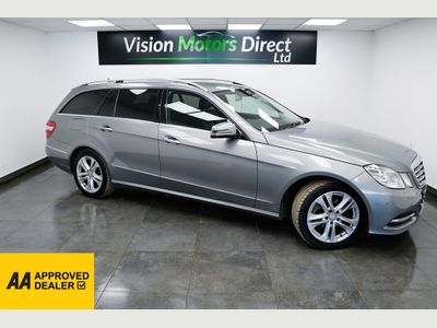 Mercedes-Benz E Class Estate 2.1 E220 CDI BlueEFFICIENCY Avantgarde (s/s) 5dr