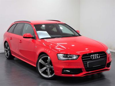 Audi A4 Avant Estate 1.8 TFSI Black Edition Avant Multitronic 5dr
