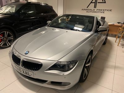 BMW 6 Series Convertible 3.0 635d Sport 2dr