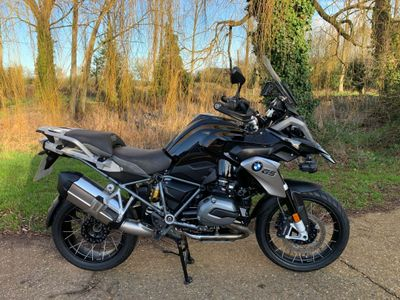 BMW R1200GS Adventure 1200 GS TE Triple Black ABS