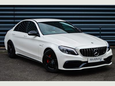 Mercedes-Benz C Class Saloon 4.0 C63 V8 BiTurbo AMG S SpdS MCT (s/s) 4dr