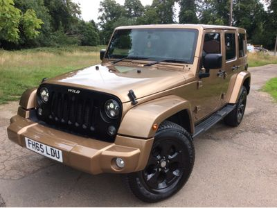 Jeep Wrangler SUV 2.8 CRD Overland Auto 4WD 4dr