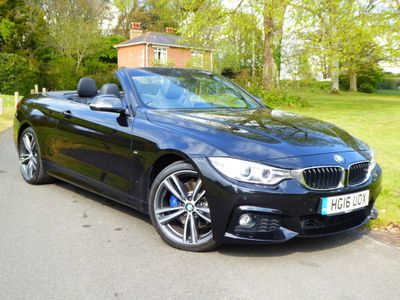 BMW 4 Series Convertible 2.0 420i M Sport Auto 2dr