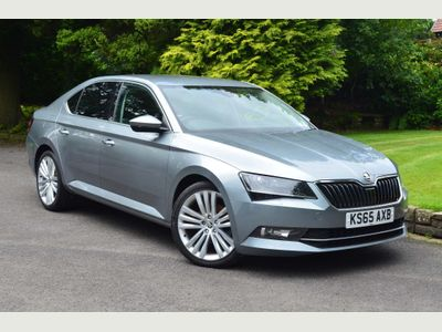 SKODA SUPERB Hatchback 1.6 TDI Greenline SE L Executive (s/s) 5dr