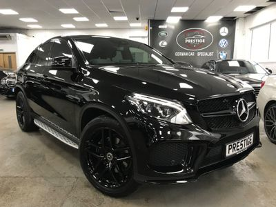 Mercedes-Benz GLE Class Coupe 3.0 GLE350d V6 AMG Night Edition G-Tronic+ 4MATIC (s/s) 5dr