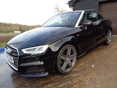 Audi A3 Cabriolet Convertible 1.4 TFSI CoD S line Cabriolet (s/s) 2dr