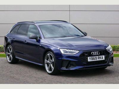 Audi A4 Avant Estate 2.0 TDI 40 Black Edition Avant S Tronic quattro (s/s) 5dr