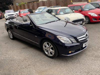 Mercedes-Benz E Class Convertible 2.1 E250 CDI BlueEFFICIENCY SE Cabriolet 2dr