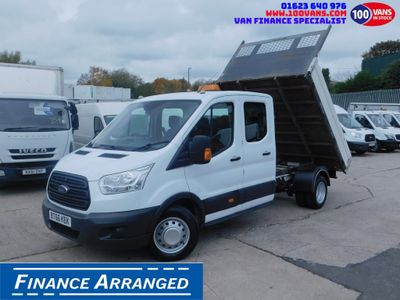 Ford Transit Tipper 2.2TDCI 125PS L3 DOUBLE CAB TIPPER