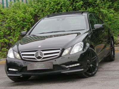 Mercedes-Benz E Class Coupe 2.1 E250 CDI BlueEFFICIENCY Sport G-Tronic 2dr