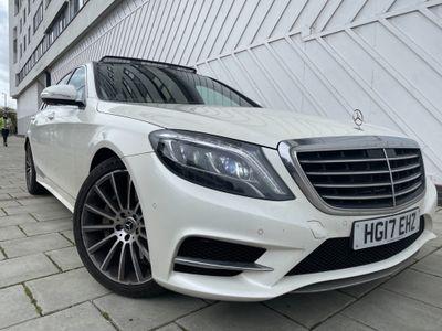Mercedes-Benz S Class Saloon 3.0 S350L d SE (Premium) 9G-Tronic Plus (s/s) 4dr