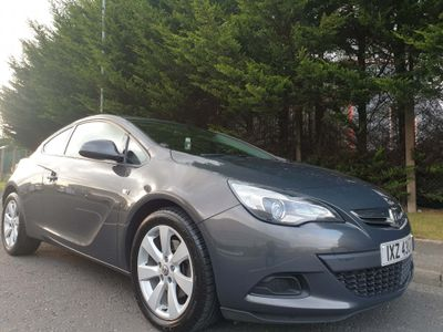 Vauxhall Astra GTC Coupe 1.7 CDTi ecoFLEX 109g Sport (s/s) 3dr