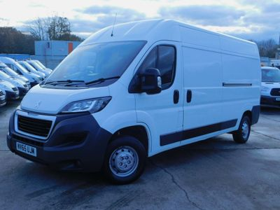 Peugeot Boxer Panel Van 2.2HDI 130PS LWB L3 H2 WORK VAN