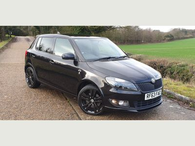SKODA Fabia Hatchback 1.2 TSI Monte Carlo Tech Black Edition 5dr