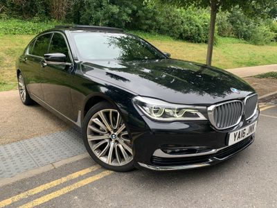 BMW 7 Series Saloon 3.0 730Ld Auto (s/s) 4dr