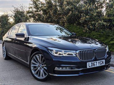BMW 7 Series Saloon 3.0 740Li Exclusive Auto (s/s) 4dr
