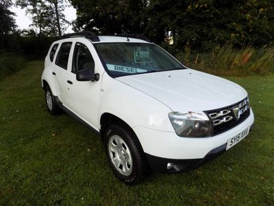 Dacia Duster SUV 1.5 dCi Ambiance 4WD (s/s) 5dr