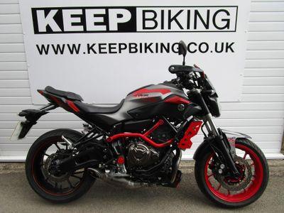 Yamaha MT-07 Naked Moto Cage ABS Naked