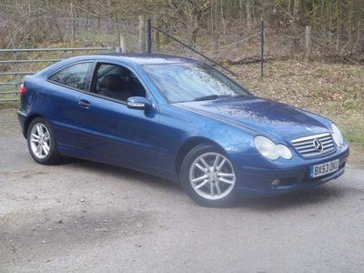 Mercedes-Benz C Class Coupe 1.8 C180 Kompressor SE 2dr