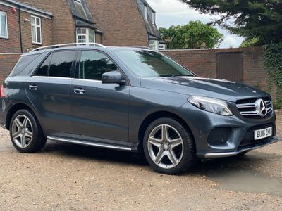 Mercedes-Benz GLE Class SUV 2.1 GLE250d AMG Line G-Tronic 4MATIC (s/s) 5dr