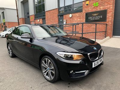 BMW 2 Series Coupe 2.0 220i Sport Auto (s/s) 2dr