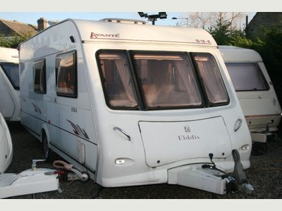 Elddis AVANTE 524 MOTOR MOVER FSH Tourer FANTASTIC CONDITION END WASHROOM