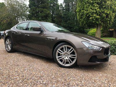 Maserati Ghibli Saloon 3.0 V6 S (Luxury Pack) 4dr