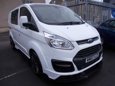 Ford Transit Custom Combi Van 5 Seater Limited Edition MSRT