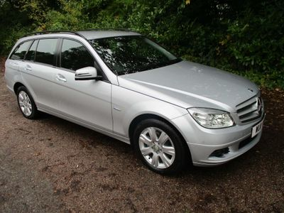 MERCEDES-BENZ C CLASS Estate 2.1 C220 CDI BlueEFFICIENCY SE (Executive) 5dr