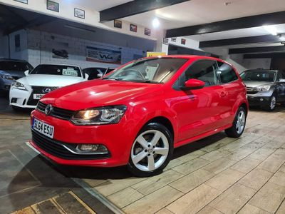 Volkswagen Polo Hatchback 1.2 TSI BlueMotion Tech SEL (s/s) 3dr