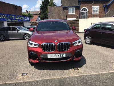 BMW X4 SUV 2.0 20d M Sport X Auto xDrive (s/s) 5dr