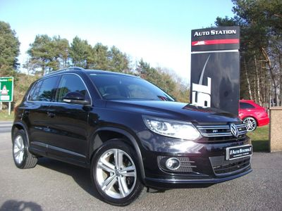 Volkswagen Tiguan SUV 2.0 TDI BlueMotion Tech R-Line DSG 4MOTION (s/s) 5dr