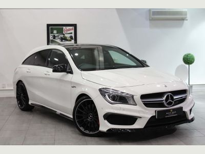Mercedes-Benz CLA Class Estate 2.0 CLA45 AMG Shooting Brake Speedshift DCT 4MATIC (s/s) 5dr