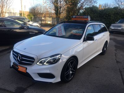 Mercedes-Benz E Class Estate 2.1 E220 CDI BlueTEC AMG Night Edition (Premium Plus) 7G-Tronic Plus 5dr