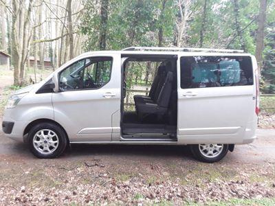 Ford Transit Custom Combi Van 2.2 TDCi 290 Limited Double Cab-in-Van L1 H1 6dr