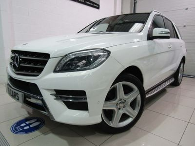 Mercedes-Benz M Class SUV 2.1 ML250 CDI BlueTEC AMG Line (Premium) 7G-Tronic Plus 4MATIC 5dr
