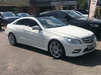 Mercedes-Benz E Class Coupe 2.1 E220 CDI BlueEFFICIENCY Sport Edition 125 (s/s) 2dr