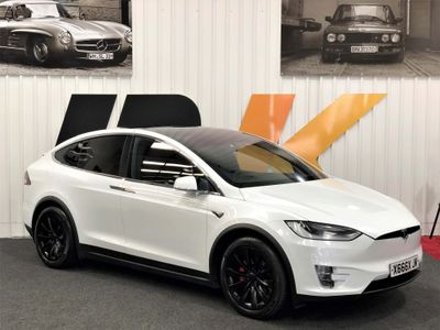 Tesla Model X SUV Performance Auto 4WD 5dr (Ludicrous)