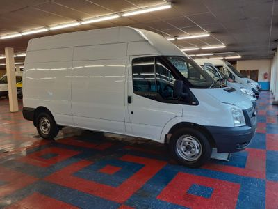 Ford Transit Panel Van 2.2 TDci 350 Hi Roof LWB 5 Doors
