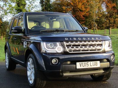 Land Rover Discovery 4 SUV 3.0 SD V6 HSE (s/s) 5dr