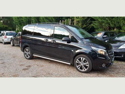 Mercedes-Benz Vito Combi Van 2.1 119 CDi BlueTEC Crew Van G-Tronic+ RWD L1 EU6 (s/s) 5dr