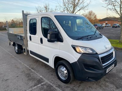 Peugeot Boxer Chassis Cab 2.2 HDi 335 L3 Crewcab Dropside 4dr