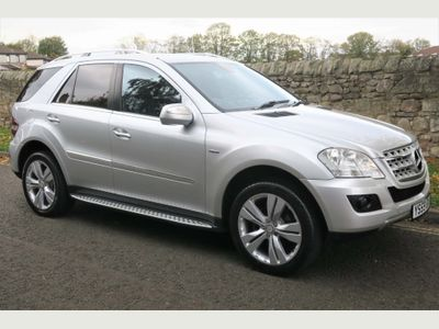 Mercedes-Benz M Class SUV 3.0 ML300 CDI BlueEFFICIENCY Sport 7G-Tronic 5dr