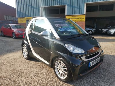 Smart fortwo Convertible 0.8 CDI Passion Cabriolet 2dr