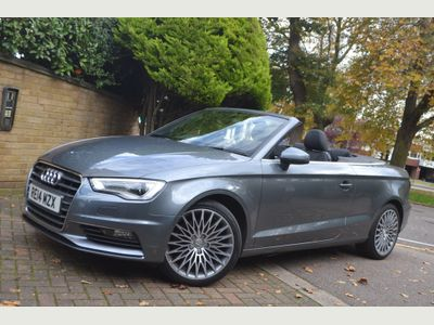 Audi A3 Cabriolet Convertible 1.8 TFSI Sport Cabriolet S Tronic 2dr