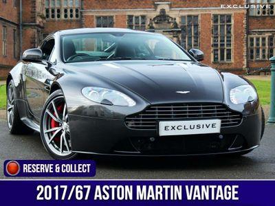 Aston Martin Vantage Coupe 4.7 V8 S Sportshift 2dr (EU6)