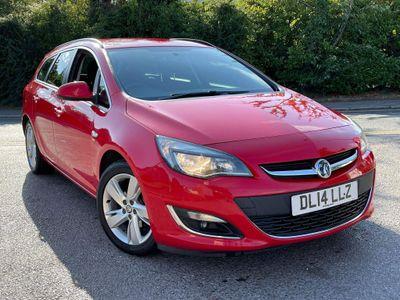 Vauxhall Astra Estate 1.6i VVT 16V SRi Sports Tourer 5dr